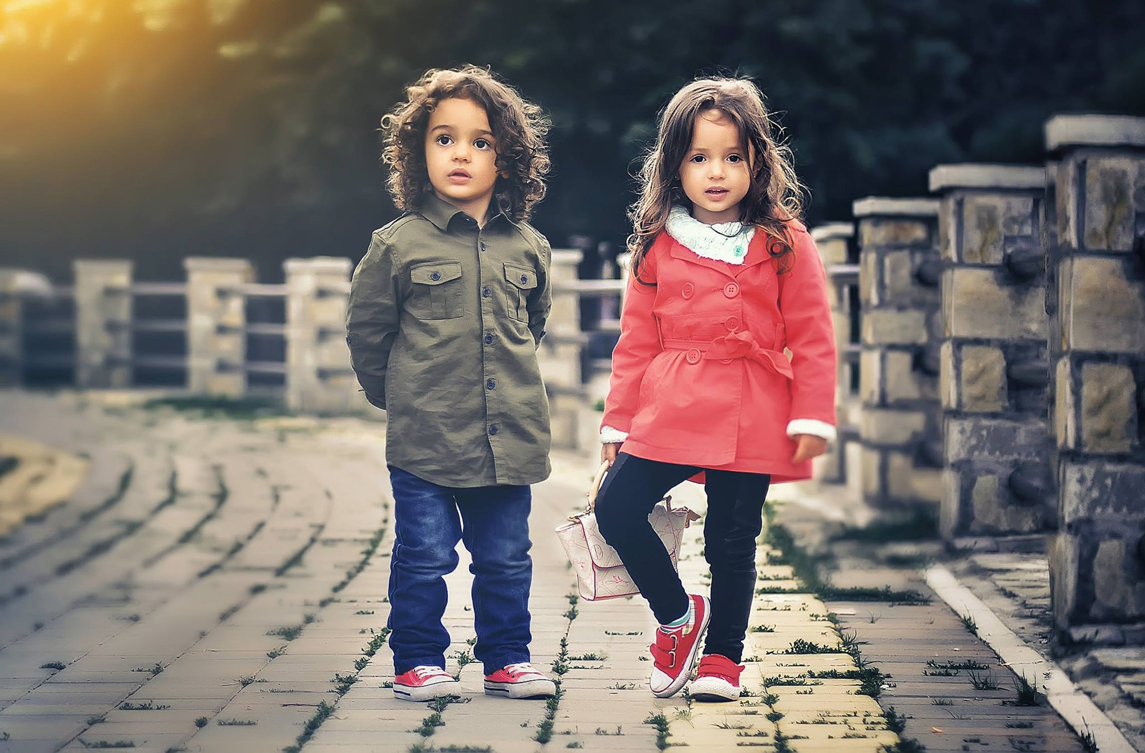 Duas crianças